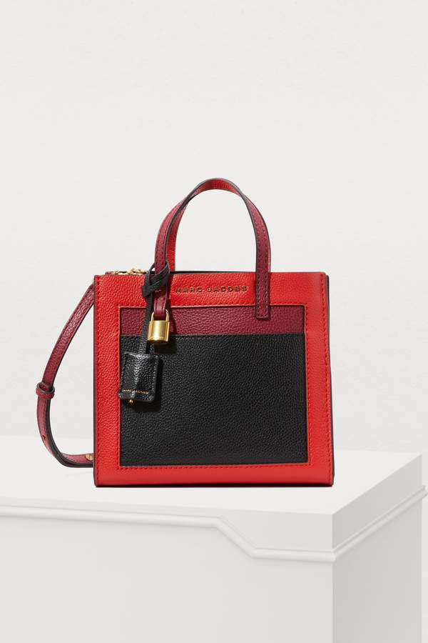 Marc Jacobs The Grind mini shopping bag