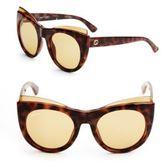 Gucci Tortoise Shell 52MM Cat Eye Sunglasses