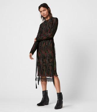 AllSaints Kiara Ossia Dress