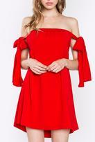 Sugar Lips Sugarlips Red Tie Dress