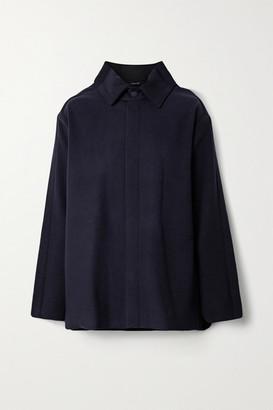 Maison Margiela Wool And Cashmere-blend Jacket - Navy