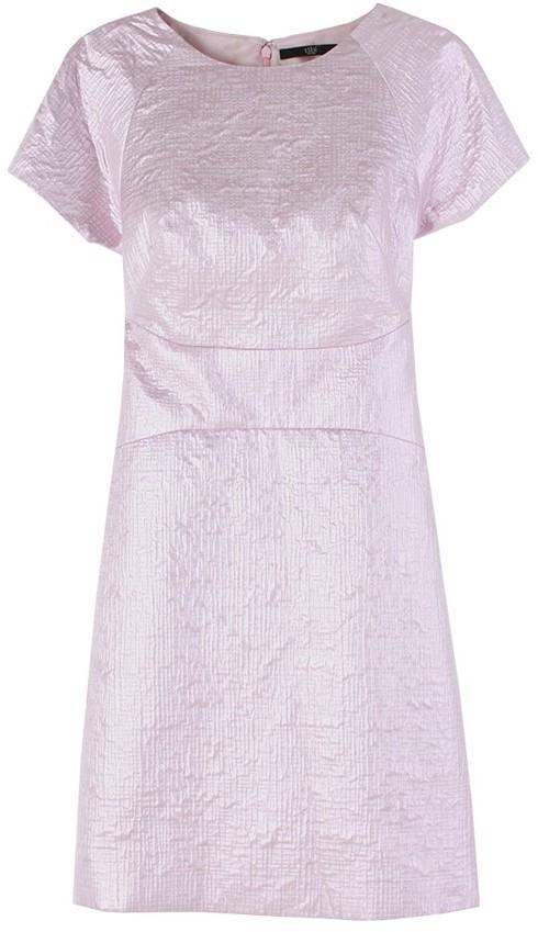 Tibi Cara Jacquard Paneled Dress