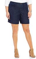 Intro Plus Hailey 5-Pocket Denim Twill Shorts