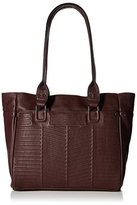French Connection Women's Dakota Tote, Biker Berry