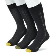 Gold Toe Men's GOLDTOE 3-pk. Textured Dress Socks