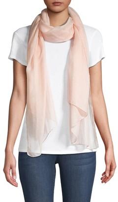 Agnona Cashmere & Silk Plisse Scarf