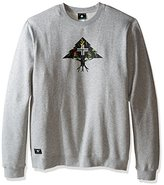 Lrg Men's Big and Tall Research Collection Roundabout Crewneck Sweatshirt