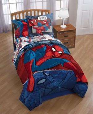Marvel Reversible Spiderman Twin Comforter Bedding