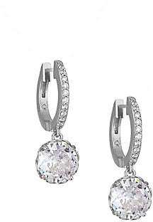 b12a1e14c2743 Women's That Sparkle Pave Huggie Hoop Earrings