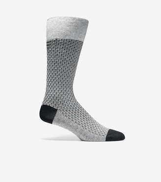 Cole Haan Dog Bone Texture Crew Socks