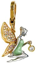 Juicy Couture Green Fairy Charm - Gold Plated Lobster Clasp
