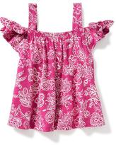 Old Navy Printed Cold-Shoulder Tunic for Toddler