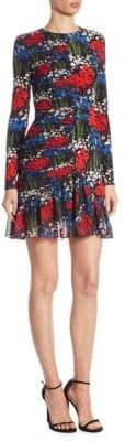 Mother of Pearl Peggy Floral-Print Dress