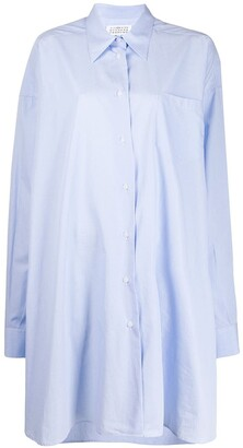 Maison Margiela Asymmetric Longline Shirt