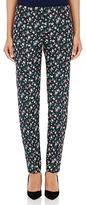 Nina Ricci WOMEN'S FLORAL-PRINT CROP TROUSERS