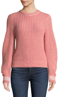 Rag & Bone Cheryl Long-Sleeve Crewneck Sweater