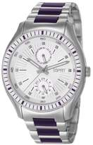 Esprit Gents Watch XL Vista Purple ES105632004 Analogue Quartz Stainless Steel