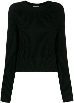 AMI Paris Crew Neck Knitted Top