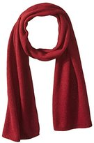 Portolano Men's Cashmere Solid Scarf, Ashton Red
