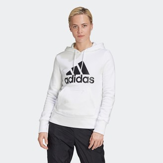 adidas Cotton Mix Hoodie with Front Pocket