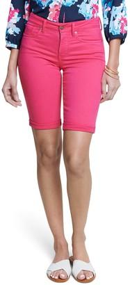 NYDJ Briella Denim Roll-Cuff Shorts