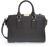 Burberry 'Medium Clifton' Signature Grain Leather Tote