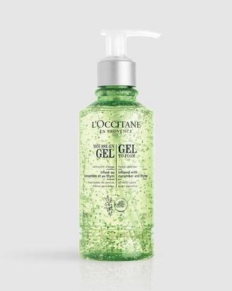L'Occitane Cleansing Gel-to-Foam 200ml