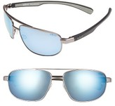 Revo Men's Wraith 61Mm Polarized Sunglasses - Gunmetal/ Blue Water