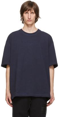 Maison Margiela Navy Resin T-Shirt