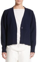 Sofie D'hoore Women's Mixed Stitch Wool Button Cardigan