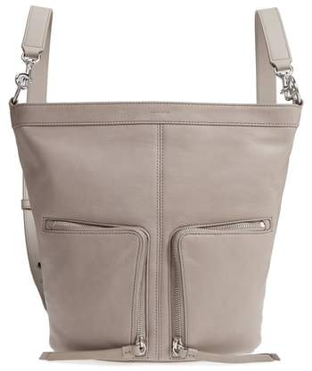 AllSaints Fetch Small Leather Backpack