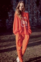 Wildfox Couture L'amour Pfeiffer Sweater in Uniform Red