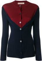 Marni dual colour cardigan - women - Virgin Wool - 40