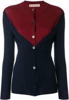 Marni dual colour cardigan - women - Virgin Wool - 42