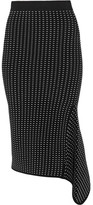 Jonathan Simkhai Dasha Textured Stretch-knit Skirt - Black