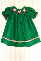 Vive La Fete Smocked Corduroy Dress