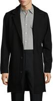 Zanerobe Men's NY Melton Wool Coat