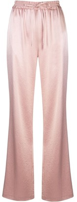 Milly High-Rise Wide Leg Trousers