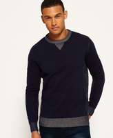 Superdry Surplus Goods Knitted Crew Neck Sweatshirt