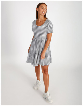 Miss Shop Baby Doll Tiered Tee Dress