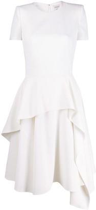 Alexander McQueen Asymmetric Layered Dress