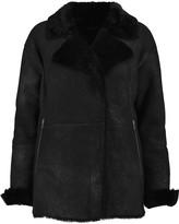 J Brand Wren shearling coat