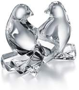 Baccarat Saint Valentine Crystal Doves Ornament