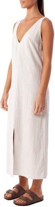 rhythm Sand Rococo Midi Dress - SMALL