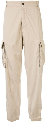 Giorgio Armani Multi-Pocket Elasticated Cuff Trousers