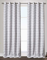 Home Outfitters Typography Two-Pack Window Curtains
