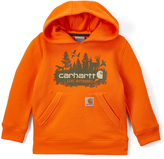 Carhartt Orange & Olive 'Live Outdoors' Hoodie - Boys
