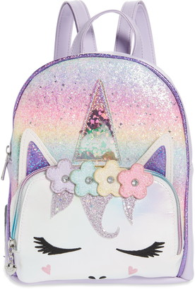 OMG Accessories Miss Gwen Unicorn Ombre Mini Backpack