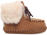 UGG Sparrow suede and sheepskin boots 0months-1year