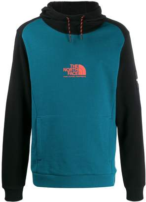 The North Face Fine Alpine two-tone hoodie